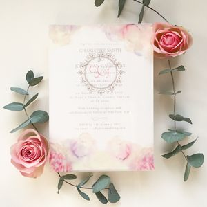 Charming Charlotte Wedding Invitation - invitations