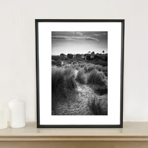 Beach Huts, Walberswick Photographic Art Print
