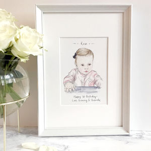 Personalised Favourite Person Illustration - paintings