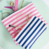 Personalised Striped Organiser Bag - health & beauty