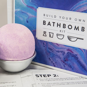 Make Your Own Bath Bomb Kit