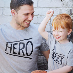 'Hero And Sidekick' Twinning Set - women's fashion