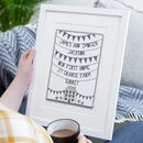 Personalised First New Home Papercut Or Print