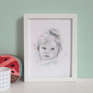 Personalised Portrait Illustration