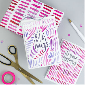 'Big Hugs' Pattern Card - what's new