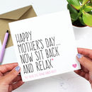 'You're Still Making Dinner Right?' Mother's Day Card