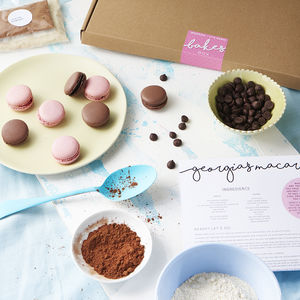 Make Your Own Macaron Kit - baking kits