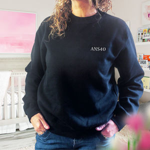 Monogrammed Sweatshirt Perfect For Her
