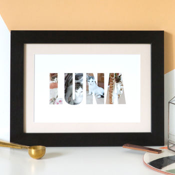 Personalised Pet Photograph Print