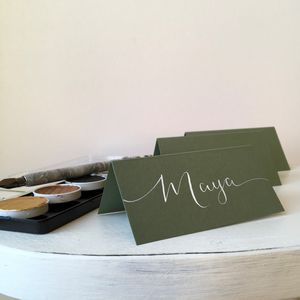 Sage Place Card - place cards