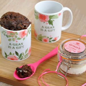 Gran's Very Own Chocolate Cake Treat Set - make your own kits