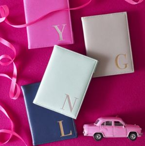 Monogram Luggage Tag And Passport Cover