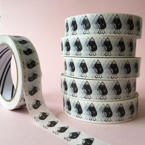 Penguin Sticky Tape - ribbon & wrap