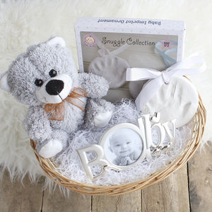 Ornament Imprint Kit New Baby Gift Basket - gift sets