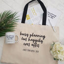 'Busy Planning' Couples Engagement Gift