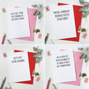 Matching Greetings Cards