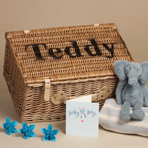 Personalised Keepsake Box - storage baskets