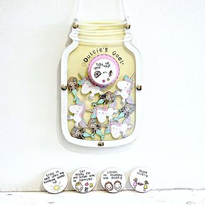 Personalised Unicorns And Mermaids Reward Jar - personalised