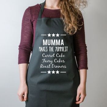 Mum Makes Personalised Mother's Day Apron