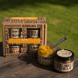 Manfood Smokehouse Gift Box - what's new