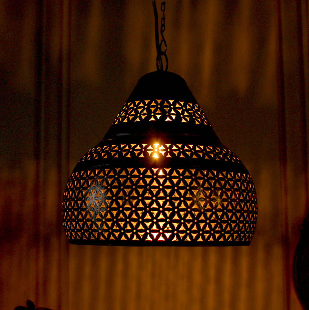 Hanging Lamp Moroccan: Moroccan Marrakesh Ceiling Pendant Light By Made With Love