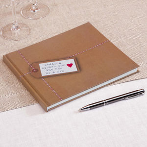 Wedding Wishes Wedding Guest Book
