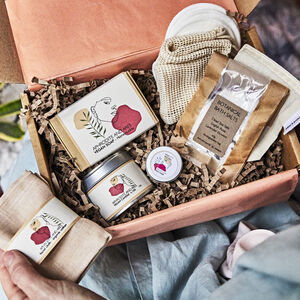 'Home Sanctuary' Personalised Organic Spa Gift Set