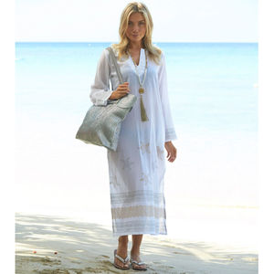 Aspiga Guadalupe Long White Tunic