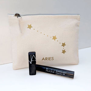 'Zodiac' Make Up Bag - make-up & wash bags