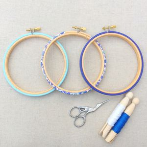 Decorative Embroidery Hoop Set
