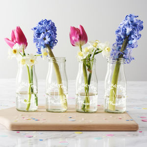 Personalised Name Bottle Bud Vases