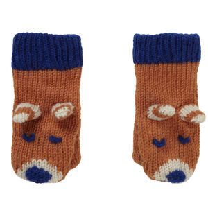 Fox Knit Mittens