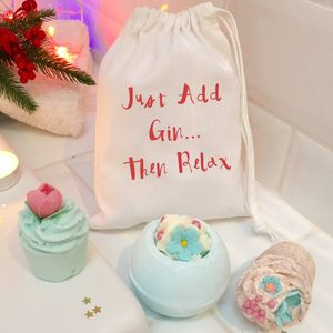 Just Add Gin ..Bath Gift Set