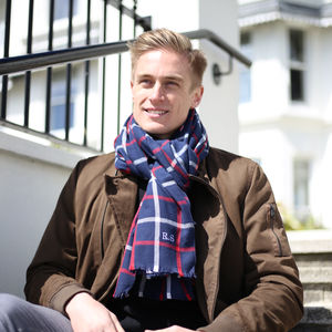 Personalised Men's Scarf