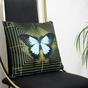 Deco Square Ulysses Cushion - patterned cushions