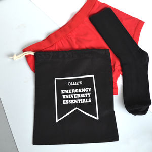 Emergency University Essentials Underwear Set