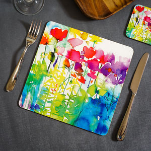 Butterflies Watercolour Placemat