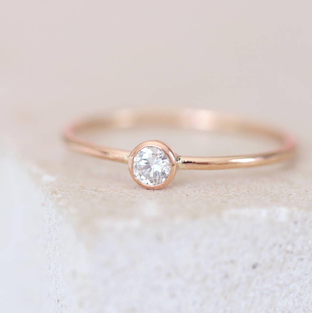 kl diamond engagement gold ring rose jewellery products rings diamonds