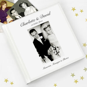 Anniversary Guest Book And Photo Album