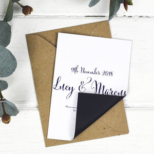 Nightgarden Wedding Save The Date Card Or Magnet
