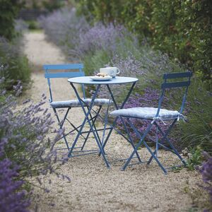 Small Bistro Set In Blue Pre Order August