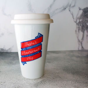 Father's Day Personalised Travel Cup