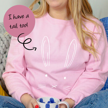 Easter Bunny Rabbit Sweatshirt Jumper