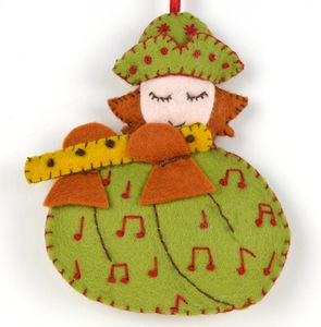 12 Days Of Christmas Piper Felt Mini Kit - decoration making kits
