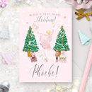 Personalised Nutcracker Christmas Card 'Dance'