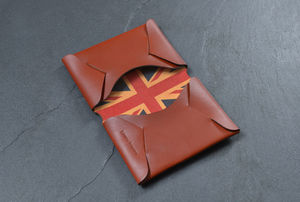Personalised Leather Card Holder