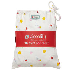 Ladybird Fitted Cot Bed Sheet