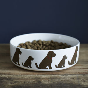 Cockapoo Dog Bowl - food, feeding & treats