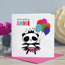 Girl's Birthday Card Panda