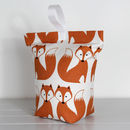 Foxy Fox Fabric Doorstop